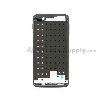 For BlackBerry DTEK50 Front Housing Replacement - Black - Grade S+ (2)
