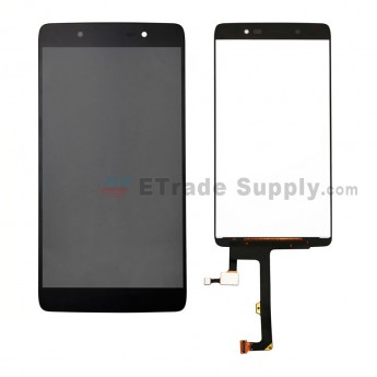 For BlackBerry DTEK50 LCD Screen and Digitizer Assembly Replacement - Black - Without Any Logo - Grade S+ (0)