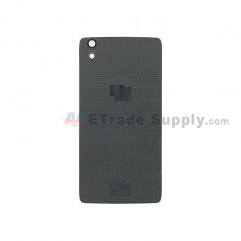 For BlackBerry DTEK50 Middle Plate Replacement - Black - With Logo - Grade S+ (2)