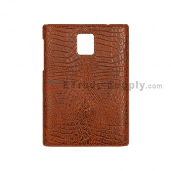 For BlackBerry Passport Protective Case - Brown - Grade R (1)
