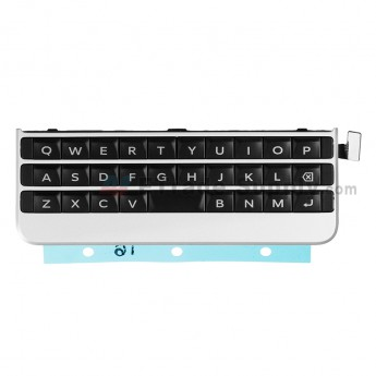 For BlackBerry Passport Silver Edition Keyboard and Keypad Replacement - Silver - Grade S+ (0)