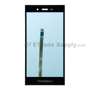 For BlackBerry Z3 Digitizer Touch Screen Replacement - Black - BlackBerry Logo - Grade A (1)