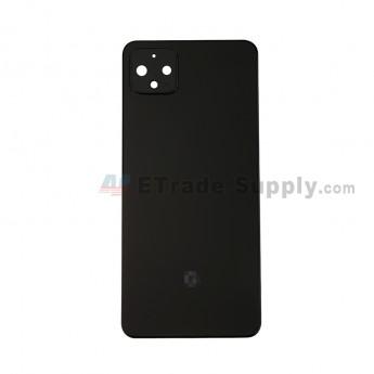 For Google Pixel 4XL Battery Door Replacement - Black - Grade S+ (0)