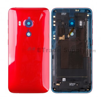 For HC Butterfly 3 Rear Housing Replacement - Red - HC Logo - Grade S+ (0)