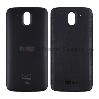 For HTC Desire 526 Battery Door Replacement - Black - HTC and Verizon Logo - Grade S+6 (0)