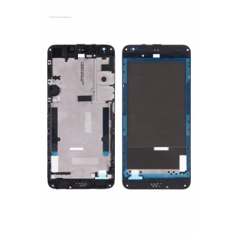 For HTC Desire 530 Front Housing without Top and Bottom Cover Replacement - Black - Grade S+ (6)