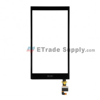 For HTC Desire 820 Mini Digitizer Touch Screen Replacement - Black - HTC Logo - Grade S+ (5aa)