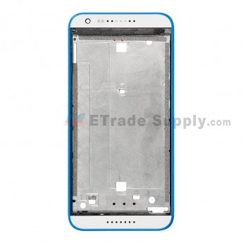 For HTC Desire 820 Mini Front Housing Replacement - Blue - Grade S+ (1)
