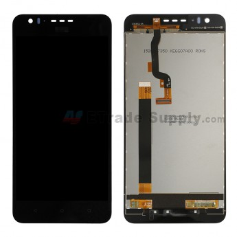 For HTC Desire 825 LCD Screen and Digitizer Assembly Replacement - Black - HTC Logo - Grade S+ (0)
