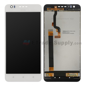 For HTC Desire 825 LCD Screen and Digitizer Assembly Replacement - White - HTC Logo - Grade S+ (0)