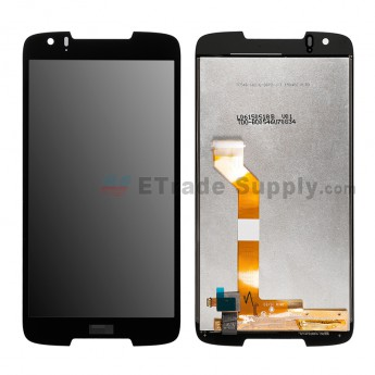 For HTC Desire 828 LCD Screen and Digitizer Assembly Replacement - Black - HTC Logo - Grade S+ (7)
