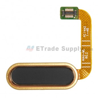 For HTC One A9 Home Button Flex Cable Ribbon Replacement - Black - Grade S+ (0)