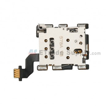 For HTC One M8s SIM Card Reader Contact with Flex Cable Replacement - Grade S+ (0)