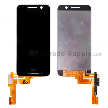 For HTC One S9 LCD Screen and Digitizer Assembly Replacement - Black - With HTC Logo - Grade S+ (0)