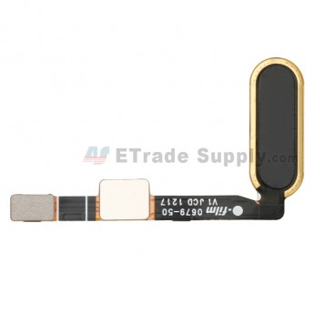 For HTC U11 Home Button Flex Cable Ribbon Replacement - Black - Grade S+ (0)