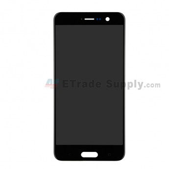 For HTC U Play LCD Screen and Digitizer Assembly Replacement - Black - Grade S+ (0)
