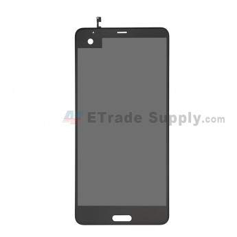 For HTC U Ultra LCD Screen and Digitizer Assembly Replacement - Black - Grade S+ (0)