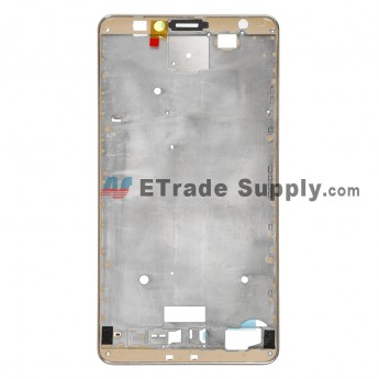 For HW Ascend Mate7 Front Housing Replacement - Gold - Grade R (5)