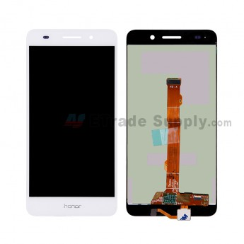 For HW Honor 5A LCD Screen and Digitizer Assembly Replacement - White - Honor Logo - Grade S+ (0)