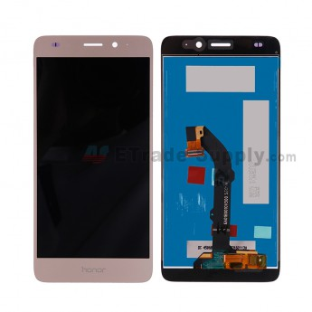 For HW Honor 5c LCD Screen and Digitizer Assembly Replacement - Gold - Honor Logo - Grade S+ (2)