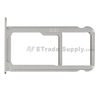 For HW P9 Card Tray Replacement - White - Grade S+ (0)