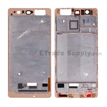 For HW P9 Plus Front Housing Replacement - Gold - Grade S+ (4)