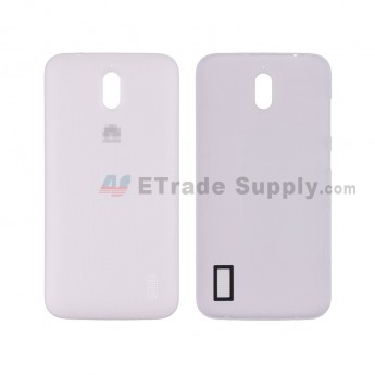 For HW Y625 Battery Door Replacement - White - HW Logo - Grade S+ (6)