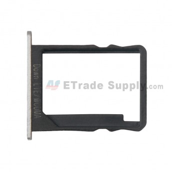 For Huawei Ascend P7 SIM Card Tray Replacement- Silver - Grade S+ (0)