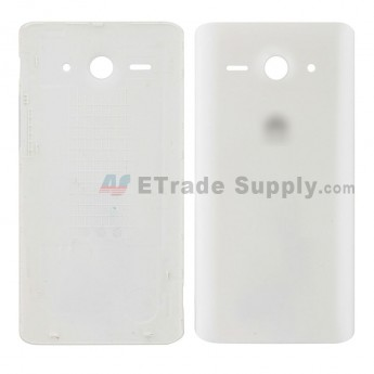 For Huawei Asend Y530 Battery Door Replacement - White - Huawei Logo - Grade S+ (0)