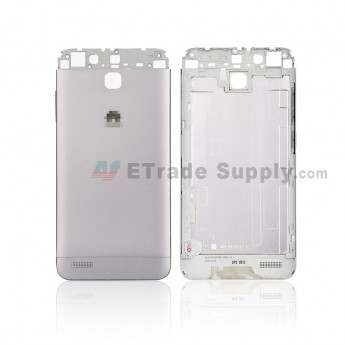 For Huawei Enjoy 5S Battery Door Replacement - White - With Logo - Grade S+ (0)