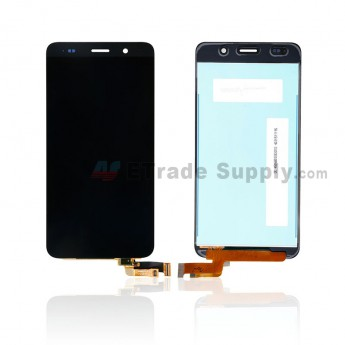 For Huawei Honor 4A LCD Screen and Digitizer Assembly Replacement - Black - Without Any Logo - Grade S+ (0)