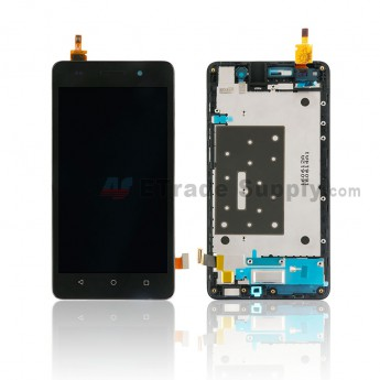 For Huawei Honor 4C LCD and Digitizer Assembly with Front Housing Replacement - Black - Without Any Logo - Grade S+ (0)
