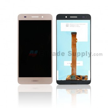 For Huawei Honor 5A LCD Screen and Digitizer Assembly Replacement - Gold - Honor Logo - Grade S+ (0)