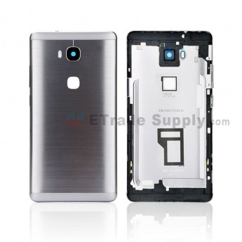 For Huawei Honor 5X Rear Housing Replacement - Black - Honor Logo - Grade S+ (0)