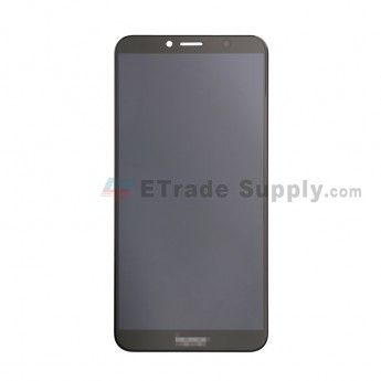 For Huawei Honor 7A LCD Screen and Digitizer Assembly Replacement - Black - With Logo - Grade S+ (0)