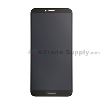 For Huawei Honor 7A Pro LCD Screen and Digitizer Assembly Replacement - Black - With Logo - Grade S+ (0)