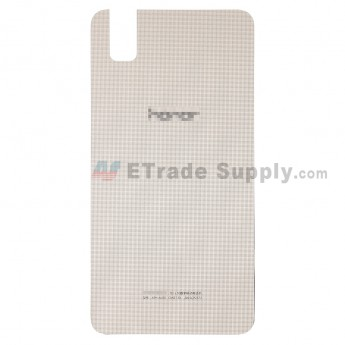 For Huawei Honor 7i Battery Door Replacement - Gold - Honor Logo - Grade S+ (3)