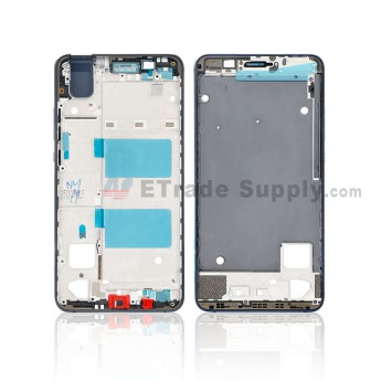 For Huawei Honor 7i Front Housing Replacement - Black - Grade S+ (0)