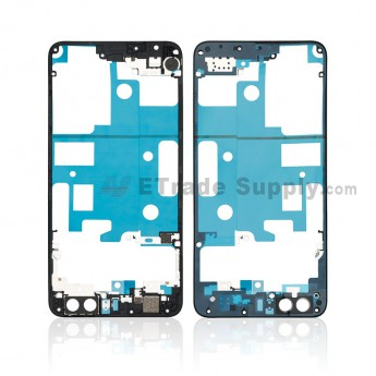 For Huawei Honor 8 Front Housing Frame Replacement - Black - Grade S+ (0)