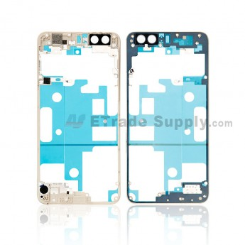 For Huawei Honor 8 Front Housing Frame Replacement - Gold - Grade S+ (0)