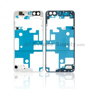 For Huawei Honor 8 Front Housing Frame Replacement - White - Grade S+ (0)