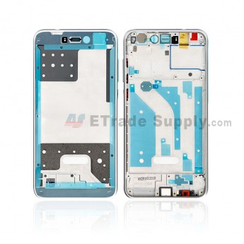 For Huawei Honor 8 Lite Front Housing Replacement - White - Grade S+ (0)