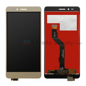 For Huawei Honor Play 5X LCD Screen and Digitizer Assembly Replacement (Standard Version) - Gold - Without Logo - Grade S+ (0)