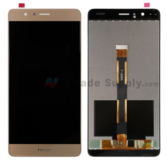 For Huawei Honor V8 LCD Screen and Digitizer Assembly Replacement - Gold - Honor Logo - Grade S+ (6)