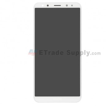 For Huawei Mate 10 Lite (Maimang 6) LCD Screen and Digitizer Assembly with Front Housing Replacement - White - With Logo - Grade S+ (0)