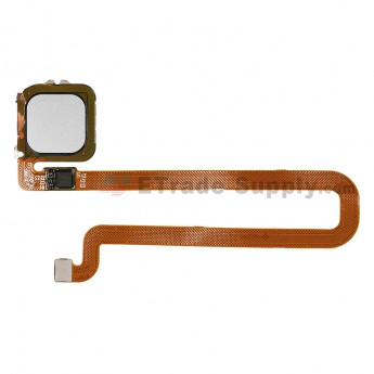 For Huawei Mate 8 Fingerprint Sensor Flex Cable Ribbon Replacement - Silver - Grade S+ (0)