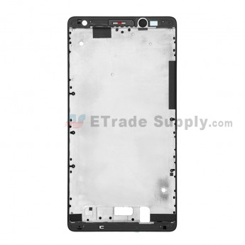 For Huawei Mate 8 Front Housing Replacement - Black - Grade S+ (0)