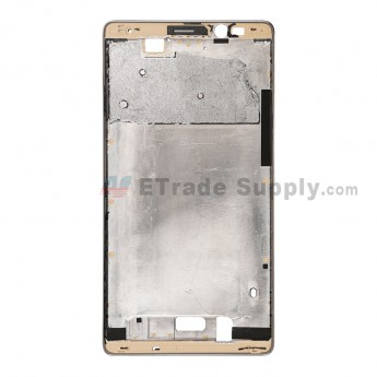 For Huawei Mate 8 Front Housing Replacement - Gold - Grade S+ (0)