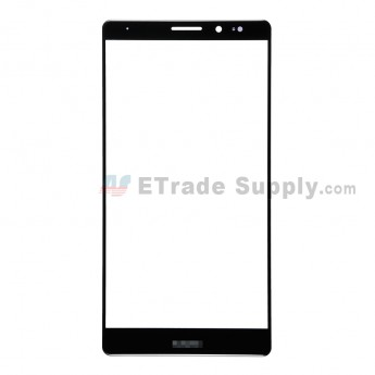 For Huawei Mate 8 Glass Lens Replacement - Black - Huawei Logo - Grade R (1)