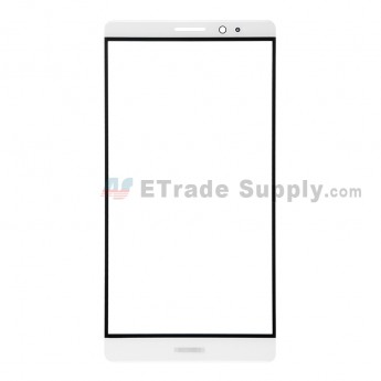 For Huawei Mate 8 Glass Lens Replacement - White - Huawei Logo - Grade R (1)